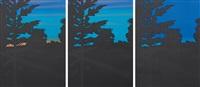 twilight series (set of 3) by alex katz