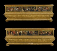 jacob's journey (+ rachel's journey; pair) by italian school-veronese (15)