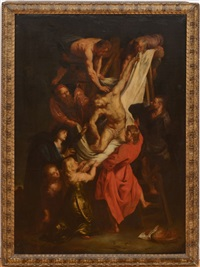 the deposition by sir peter paul rubens