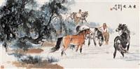 horse by liu dan