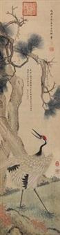 松鹤延年 by empress dowager cixi
