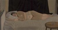 reclining nude by nicolas granger-taylor