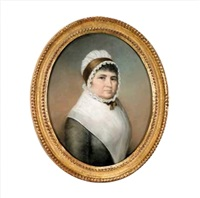 portrait of a lady aged 63 years by james sharples