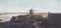 le moulin de saint-servan près de saint-malo by françois frédéric grobon