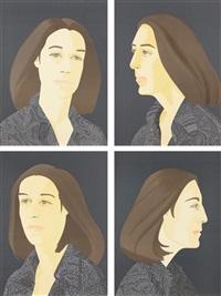 ada four times series (set of 4) by alex katz