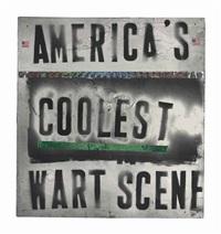 america's coolest wart scene by mark flood