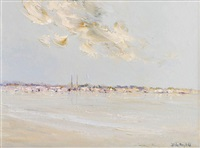 dun laoghaire spires by thelma mansfield