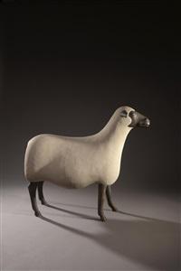 nouveau mouton, une brebis by françois-xavier lalanne
