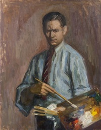 self-portrait by louis ritman
