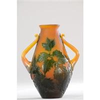 vase de forme joufflue by émile gallé