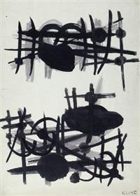composizione by franz kline