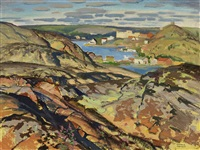 yellowknife, nwt by george franklin arbuckle
