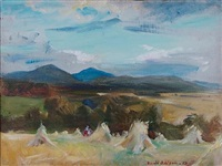 autumn, kincraig by david alison