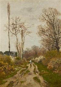 chemin de brevazac by louis alexandre cabié