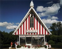 the red rooster brewster, new york, august, 2006 by todd eberle