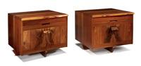 kornblut nightstands (2 works) by mira nakashima-yarnall