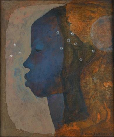 visage féminin by bernard séjourné