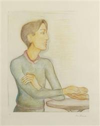 la chiromancie (diptych) by pierre klossowski