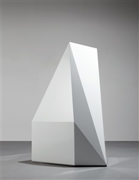 untitled (geometric structure) by sol lewitt