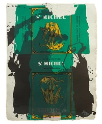 st. michel iii by robert motherwell