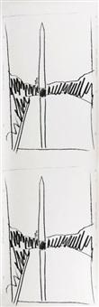 washington monument (f.& s. iiib.2) by andy warhol