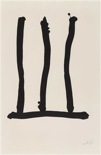 window. (from hommage à picasso) by robert motherwell