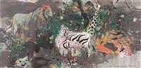 野生動物園 (wild zoo) by wu guanzhong