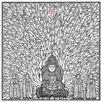 buddha by xiang silou