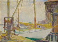 harbor view by louis frederick berneker