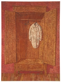 empty closet no. 2 by domenico gnoli