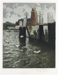 les mouettes by frits thaulow