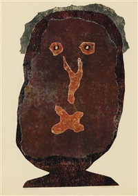 l'enfle-chique iii by jean dubuffet