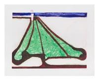 green tree spade by richard diebenkorn