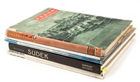 praha, and other czech photobooks (6 works) by josef sudek