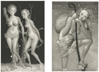 milestones (portfolio of 7) by john currin