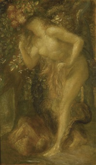 eve tempted by george frederick watts