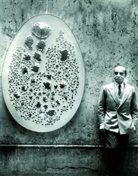 lucio fontana by harry shunk