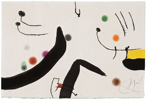 untitled le marteau sans maître by joan miró