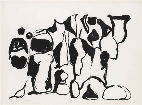 untitled (from a suite of ten lithographs) by philip guston