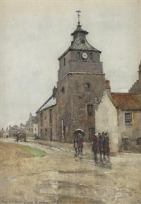 town hall, crail by robert weir allan