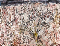 banlieue by jean dubuffet