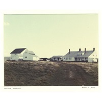 farm on naushon island by robert c. ascher