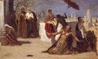 egyptian scene by isaac ashknazii