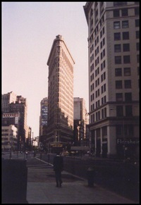 flat iron building, nyc by beaumont newhall