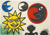 wide eyed sun by alexander calder