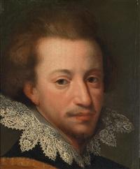 bildnis eines jungen herrn, möglicherweise erzherzog maximilian ernst von österreich (1583-1616) by hans von aachen