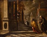 presentación de la virgen en el templo by matías arteaga y alfaro