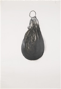study for positive corner (empty head) by juan muñoz