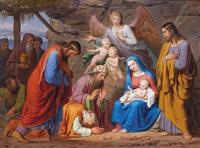 die anbetung der hl. drei könige by josef arnold the elder