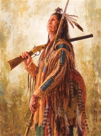 warrior of grand stature by james ayers